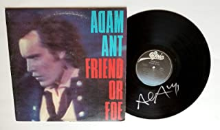 Adam Ant REAL hand SIGNED Friend Or Foe Vinyl COA The Ants