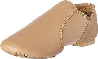 Capezio Girls' E Series Jazz Slip On Outdoor Shoes