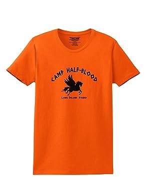 TOOLOUD Camp Half Blood Adult Womens T-Shirt