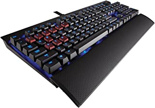Corsair K70 Rapidfire USB Negro - Teclado (USB, Juego, Alámbrico, USB, Windows 7 Home Basic, Windows 7 Professional, Windows 8, Windows 8 Pro, Windows Vista Home Basic, Wi, Negro)