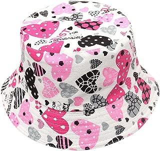 Littleice Baby Hats Sun Toddler Baby Kids Boys Girls Plaid Pattern Bucket Fisherman Hat Cup