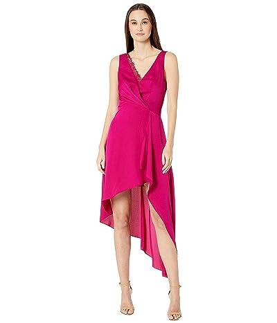 BCBGMAXAZRIA Eve Long Dress (Vivid Fuchsia) Women
