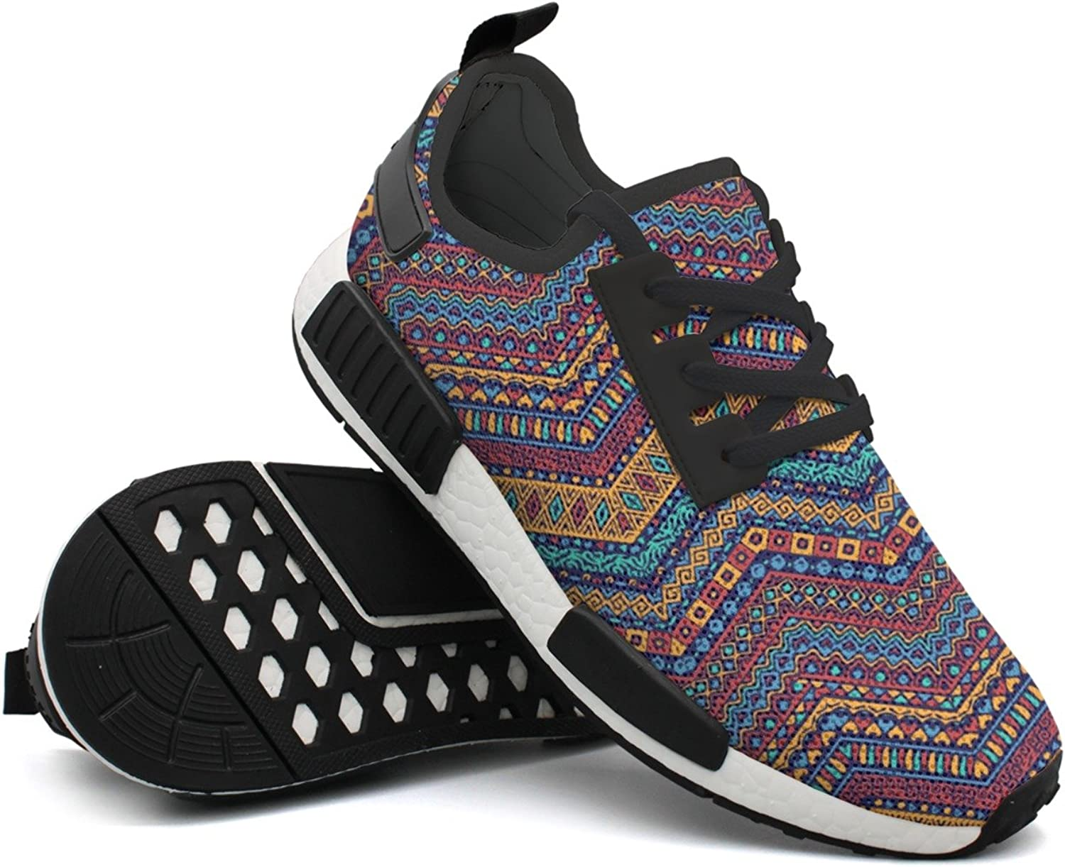 African Style Tribal Motifs Woman Active Unique Design Running shoes Top Mens