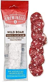 Creminelli - Italian Artisan Handcrafted Fine Meats, Wild Boar Salami, 5.5 Ounce