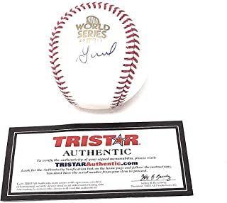 Jose Altuve Houston Astros Signed Autograph Official MLB World Series Baseball Tristar Authentic Certified