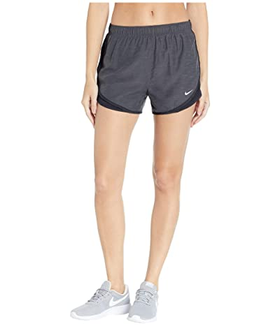 Nike Dry Tempo Short (Black Heather/Black/Black/Wolf Grey) Women