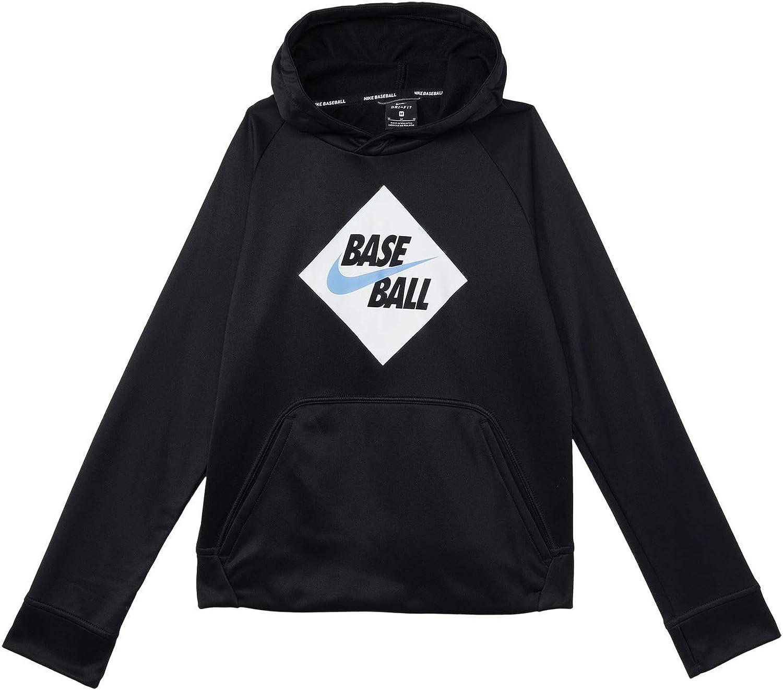 Nike Boy's Therma Baseball Hoodie (Little Kids/Big Kids)