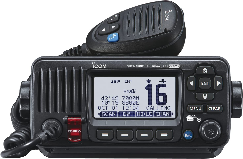 ICOM M423G Marine Radio VHF con DSC y GPS Integrado