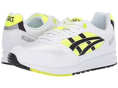 ASICS Tiger Gel-Saga (Safety Yellow/Black) Classic Shoes