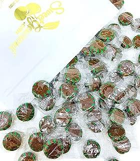 SweetGourmet Chocolate Mint Starlight | Clear Wrap Bulk Hard Candy | 3 Pounds
