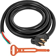 Mophorn 15Ft 50 Amp Generator Extension Cord 4 Wire 6 Gauge STW 6/3+8/1 Generator Cord..