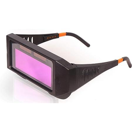 Eye Pro Safety Welding Auto Darkening Lens Eye Protecting Goggles (Black)