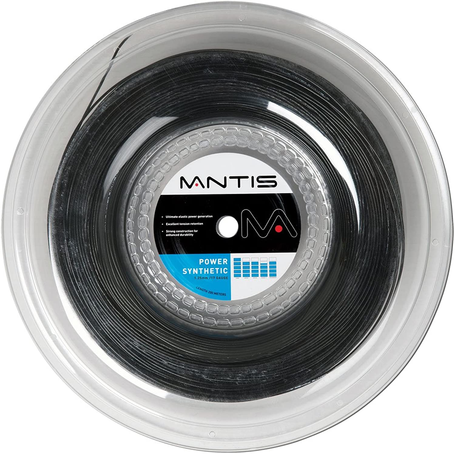 Mantis Power Synthetic Tennis String  200m Reel color Amber