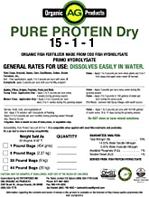 Pure Protein Dry Organic Fertilizer, 1 Pound