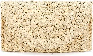 Straw Clutch Purse, JOSEKO Women Straw Envelope Bag Wallet Summer Beach Handbag Beach Clutch Woven Purse