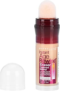 Maybelline New York Instant Age Rewind Eraser Treatment Makeup, Creamy Ivory, 0.68 fl. oz.
