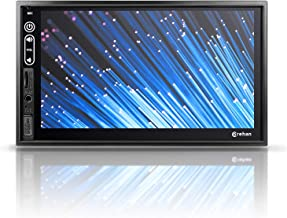 Double Din Android Car Stereo - Corehan Car Multimedia Radio with WiFi Bluetooth GPS Navigator Mirror Link 7 Inch Touch Screen