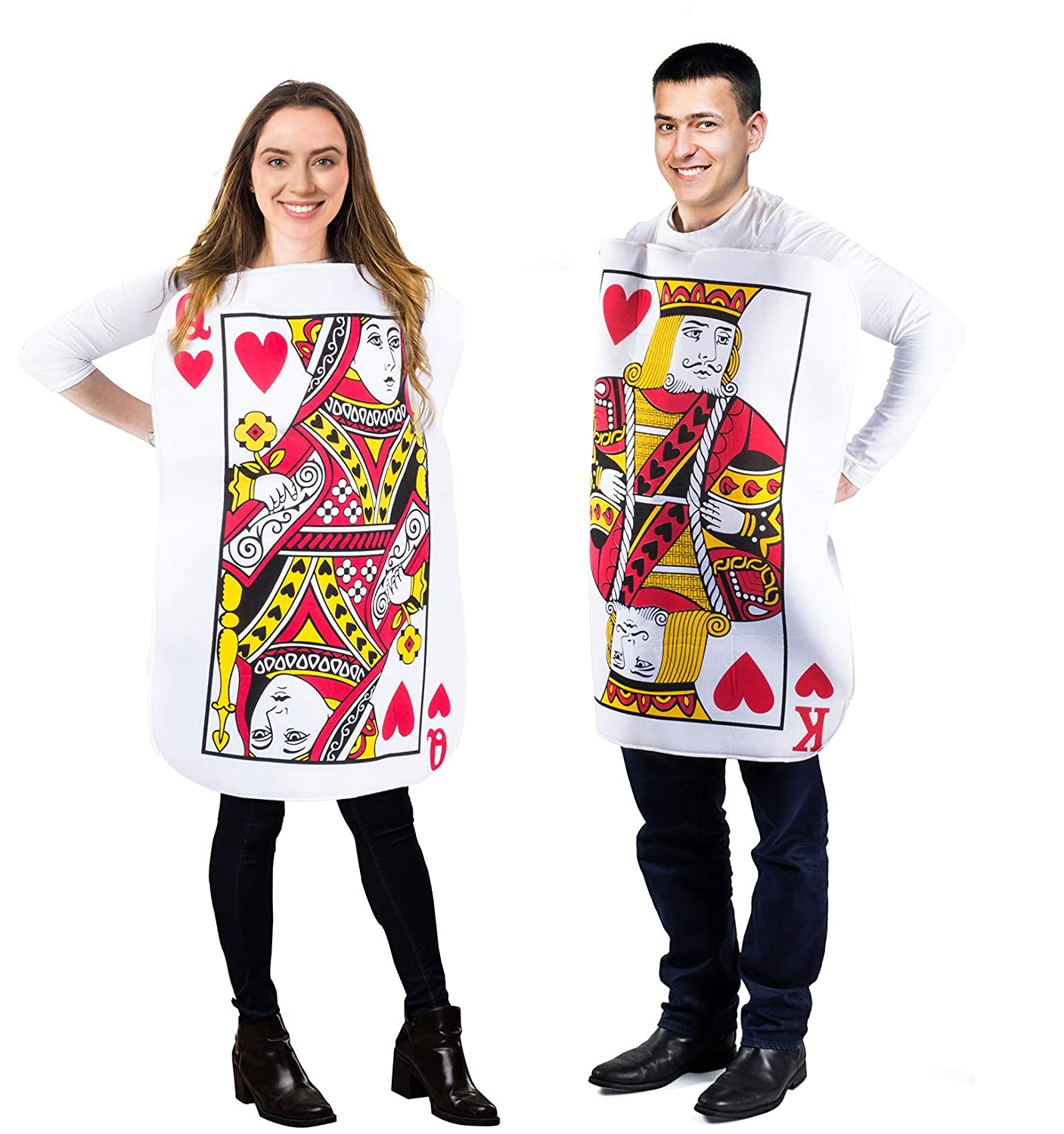 Tigerdoe King And Queen Card Costume