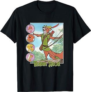 Disney Robin Hood Classic Disney Film Retro Maglietta