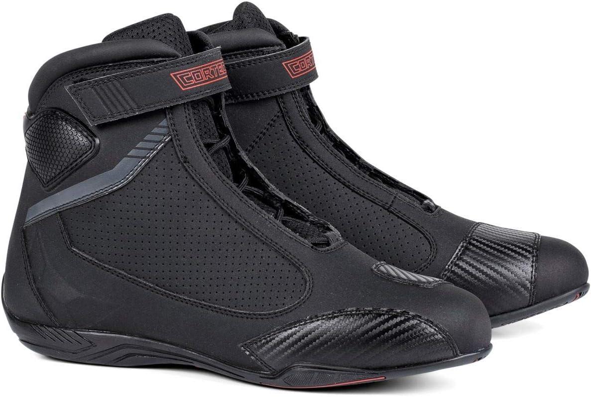 7 Black Cortech Mens Speedway Chicane Air Riding Shoe