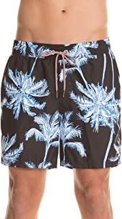 Men's Palm Spring Swim Trunks Sporty Shorts