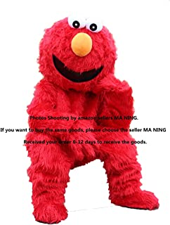 Elmo Red Monster Mascot Costume Plush Cartoon Costume