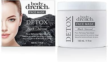 Body Drench Detox Black Charcoal Pore Refining Face Mask, 4 oz