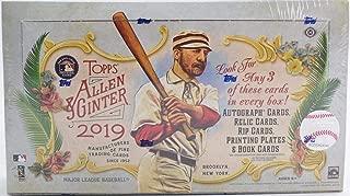 2019 Topps Allen & Ginter Baseball Hobby Box (24 Packs/Box, 8 Cards/Pk: 3 Hits)