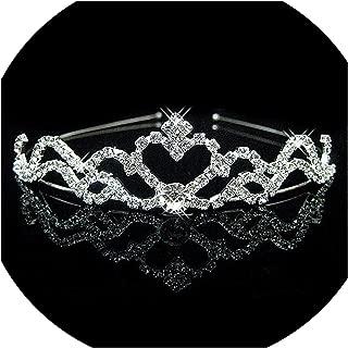 Luxury Wedding Bridal Austria Crystal Tiara Crowns Princess Queen Party Prom Rhinestone Tiara Headband Hair Jewelry Accessorie,5
