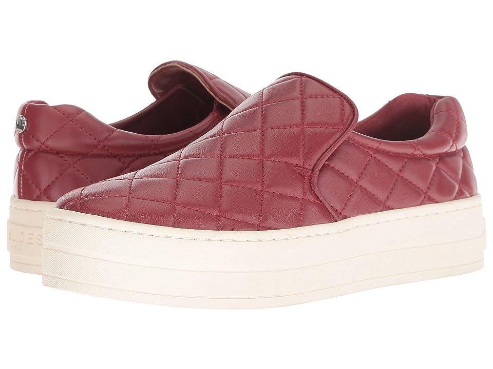 J/Slides Harlee (Red Leather) Women