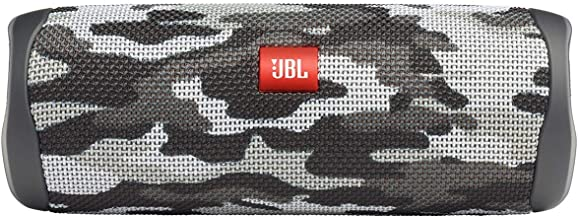 JBL Flip 5 Portable Waterproof Wireless Bluetooth Speaker - Black Camo
