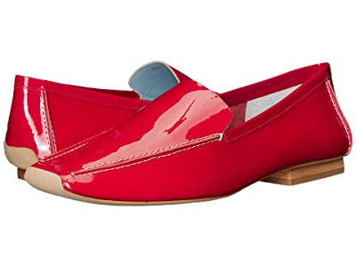 Frances Valentine Elyce (Red Soft Patent) Women
