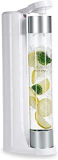 Levivo machine à gazéifier Slim Fruit & Fun, bouteille à gazéification 1L, Machine à Soda, Appareil à eau Pétillante, gaz...