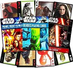 Star Wars Playing Cards ~ Set of 3 Decks