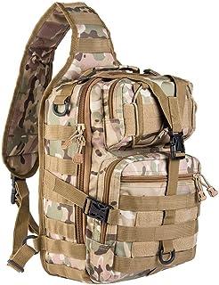 RiAVIKA - Mochila táctica pequeña de 20 litros, compacta y versátil, mochila de hombro, mochila de pecho o mano – Mochila de estilo militar de asalto