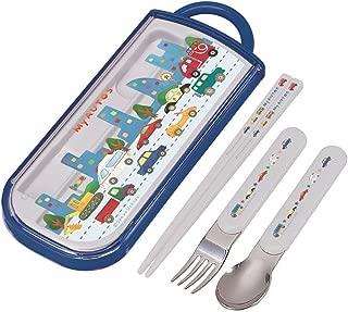 SKATER 餐具三件套 滑动式 筷子 汤勺 叉子 套装 MyAutos 日本制造 TCS1AM
