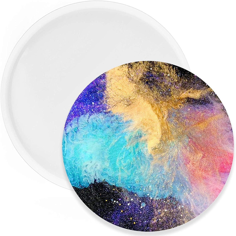 Moldes De Silicona Para Resina circular de 19 cm