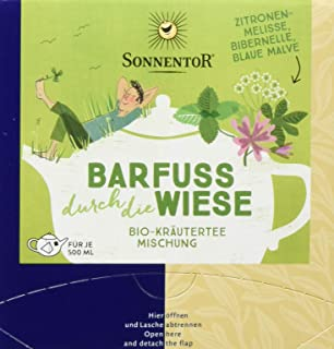 Sonnentor Barfuß durch die Wiese, Bio Kräutertee, Kannenbeutel 1 x 21,6 g