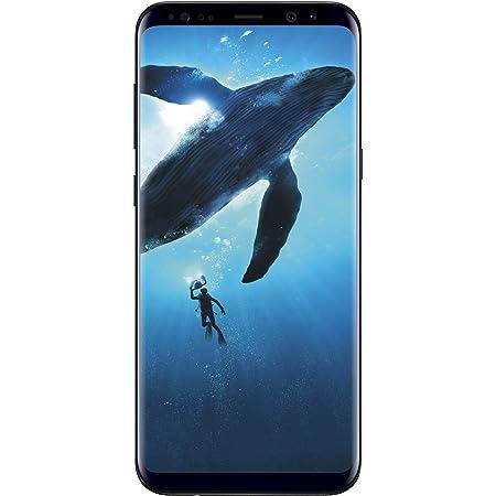(Refurbished) SAMSUNG Galaxy S8 64GB Phone - 5.8in Unlocked Smartphone - Midnight Black