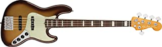 Fender エレキベース American Ultra Jazz Bass® V, Rosewood Fingerboard, Mocha Burst