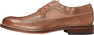 Marca Amazon - find. Zapatos de Cuero con Cordones para Hombre