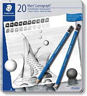 Staedtler Drawing or Sketch Wood Pencil (100 G20)