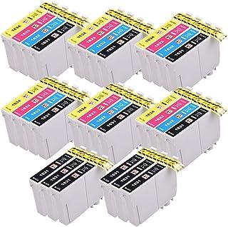 PerfectPrint Compatible Tinta Cartucho Reemplazo Para Epson WF-2010W WF-2510WF WF-2520NF WF-2530WF WF-2540WF WF-2630WF WF-2650DWF WF-2660DWF WF-2750DWF WF-2760dwf 16XL (B/C/M/Y, 30-Pack)