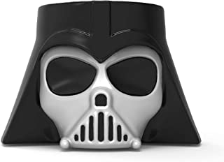 Zak Designs Star Wars Ep4 Unique 3D Character Sculpted Ceramic Coffee Mug with Ceramic Spoon, Collectible Keepsake and Wonderful Coffee Mug (20 oz, Darth Vader, BPA-Free)