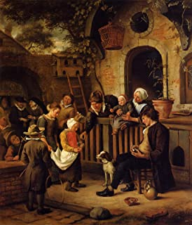 Jan Steen The Little Alms Collector 1665 Musee du Petit Palais Paris 30
