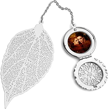WXDGLL Bookmarks with Pendants Book Protection Tools The Twilight Saga Metal Leaf Bookmarks, for Accessories, Gifts and Souve