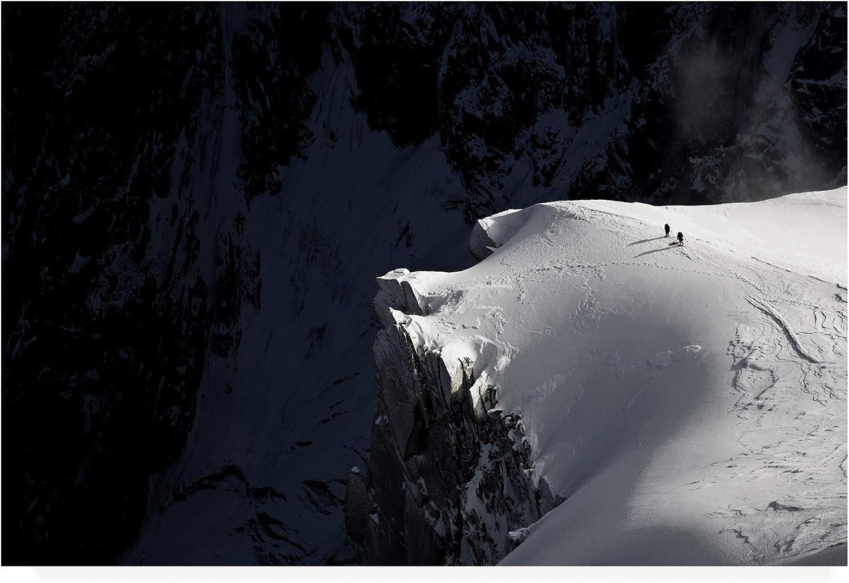 Trademark Fine Art Alpinists by Tristan Shu, 12x19