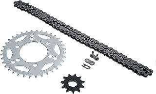 Cycle ATV - Non O Ring Chain and Sprocket - 11/36 76L fits Polaris 250 Trail Blazer 330 Trail Boss