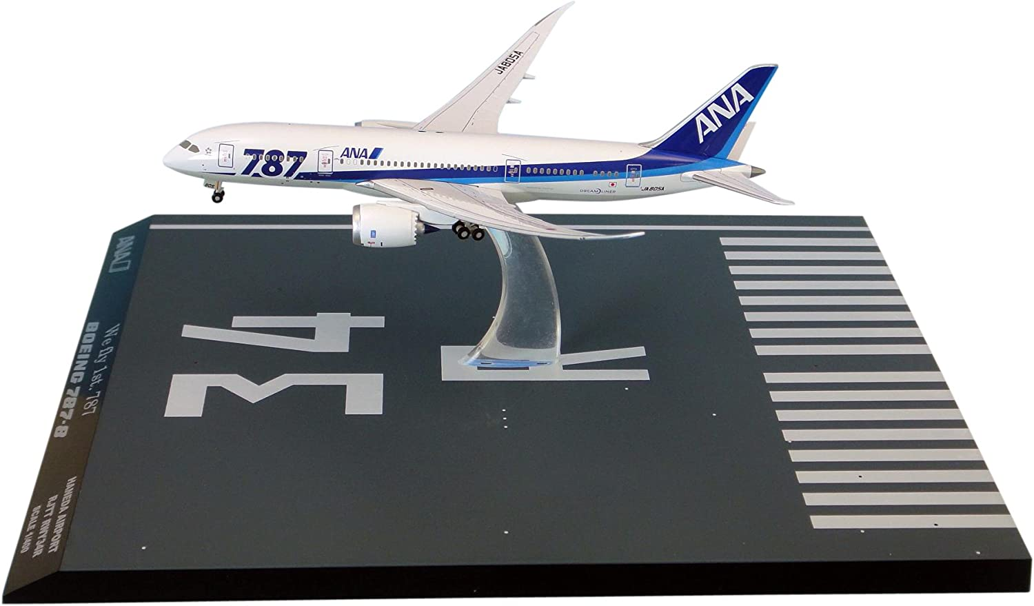 ANA JA805A 787 International Flight w Logo  Main Wings in the Air