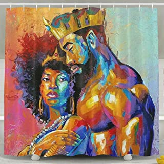 Best black history shower curtain Reviews